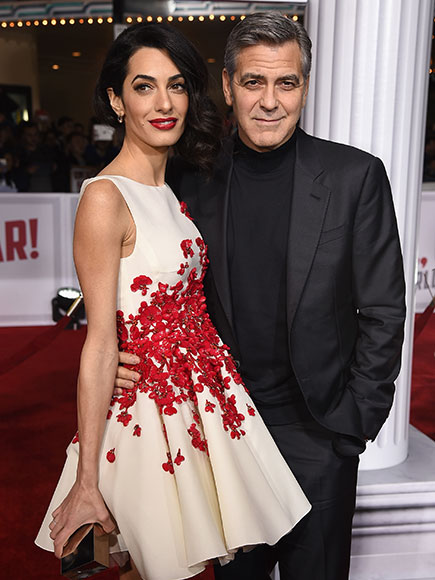 George and Amal Clooney Co-Hosting Dinner with Hillary Clinton