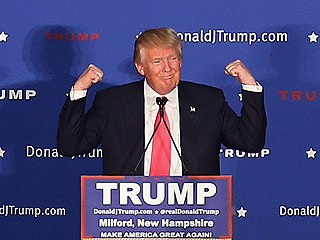 Donald Trump Wins New Hampshire's Republican Primary