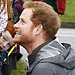 Prince Harry Shows off His Uncle Skills During Visit to Flood-Stricken Town