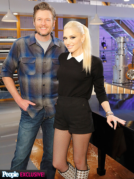 Gwen Stefani Is Boyfriend Blake Shelton's Voice Advisor