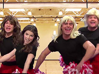 VIDEO: Brr, It's Cold in Here! James Corden, Anna Kendrick, Zac Efron and Adam DeVine Recreate Every Sports Movie Ever