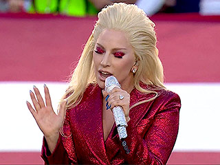 Lady Gaga Nails the National Anthem  at the Super Bowl – and the Internet Goes Wild