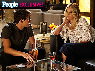 VIDEO: Sparks Fly Between Hanna and Caleb on PLL