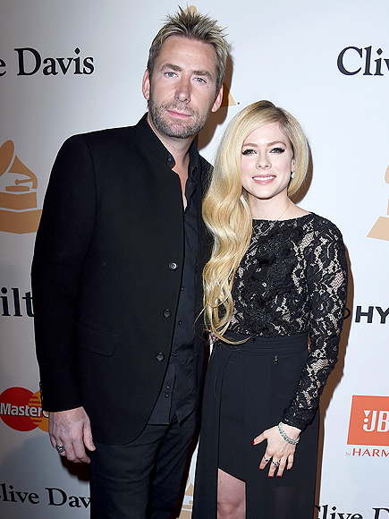Avril Lavigne and Chad Kroeger Spotted at Pre-Grammy Party