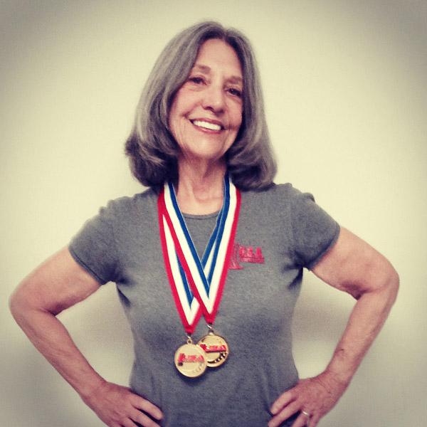 Meet Barbara Garmon the 73-Year-Old World Champion Weight Lifter