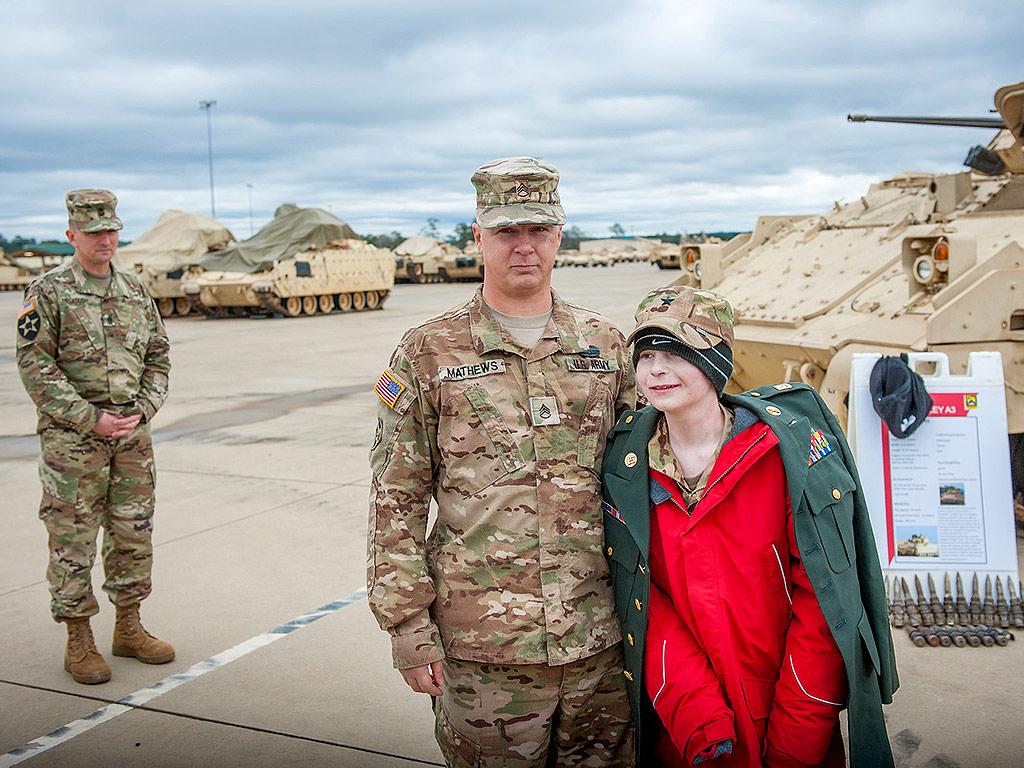 Mason Giove Made Tank Commander at Fort Benning