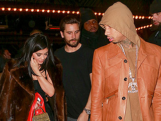 Make Way for Kylie! Jenner Joins Scott Disick and Boyfriend Tyga While Partying in N.Y.C.