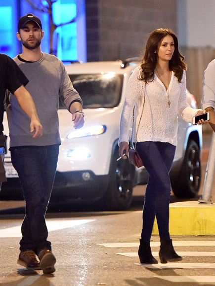 Nina Dobrev Parties with Chace Crawford After Austin Stowell Split