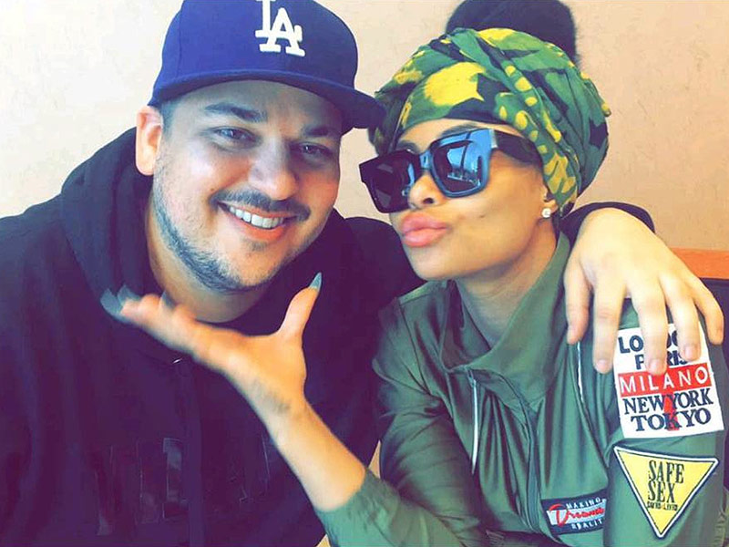 Rob Kardashian and Blac Chyna Break Up 2016