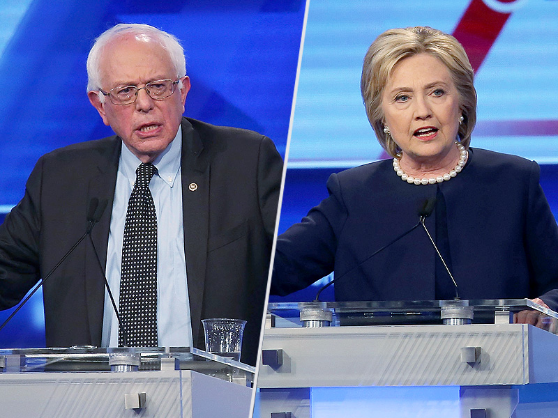 Hillary Clinton and Bernie Sanders Debate in Brooklyn Ahead of New York Primary