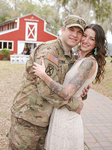 Soldier Marries Sister of Man He Saved in Afghanistan