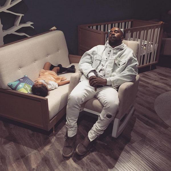 Kanye West Sleeping: Funny Photoshops of Kim Kardashian Photo