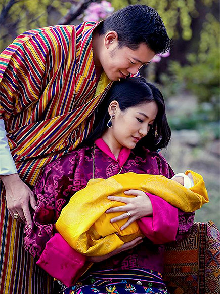 The King and Queen of Bhutan Share First Close-Up Photos of Two-Week-Old Son
