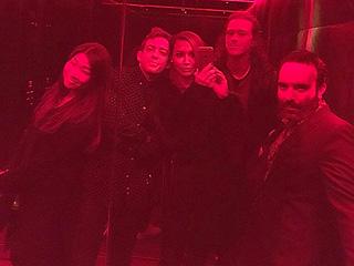 Glee Stars Reunite for Amber Riley's 30th Birthday Celebration