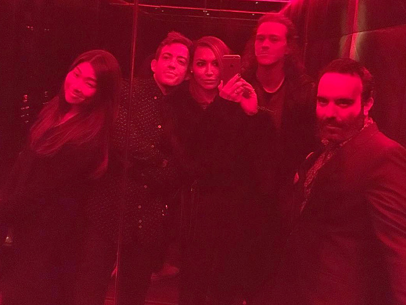 Glee Cast Reunites for Amber Riley's 30th Birthday Party