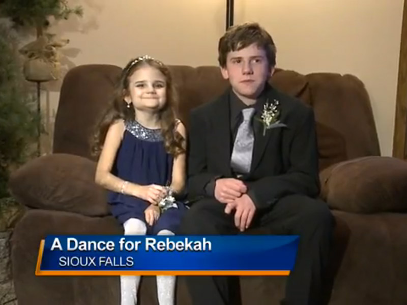 Teen Brings Terminally Ill Little Sister to Winter Formal