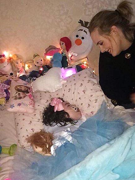 Adele Visits Ill 12-Year-Old Fan Rebecca Gibney: Photos