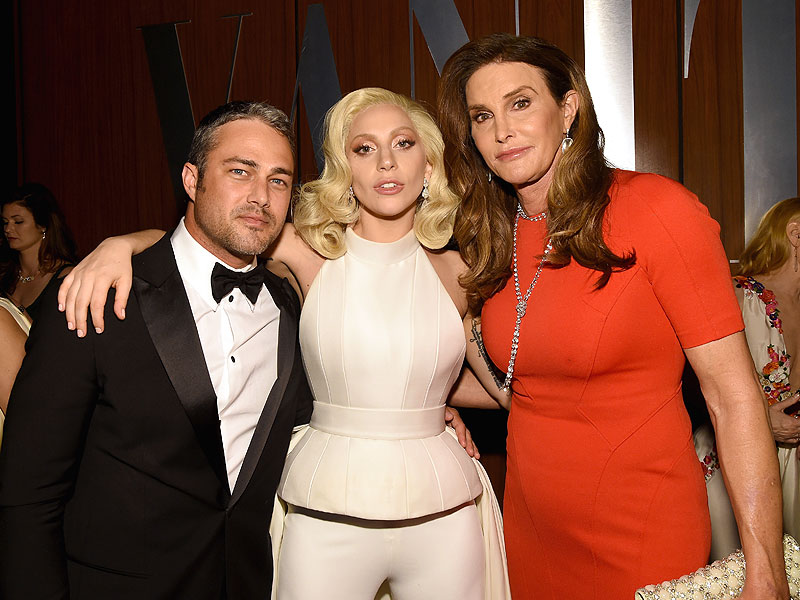 Oscars 2016: Caitlyn Jenner Parties with Lady Gaga at Vanity Fair Party