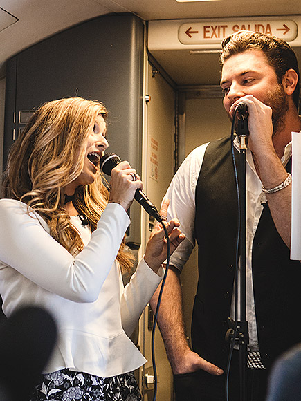 Chris Young and Cassadee Pope Southwest Airlines Live at 35