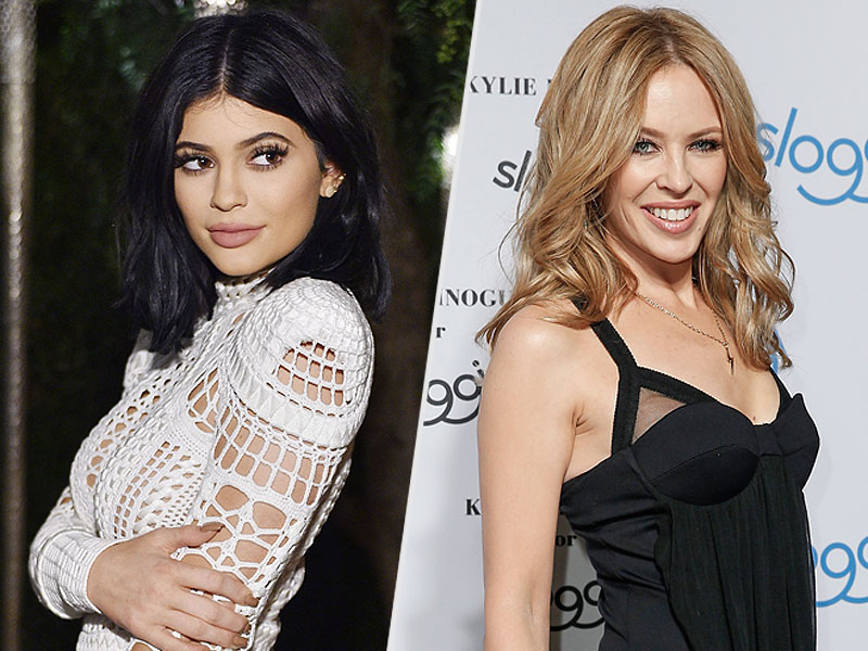 Kylie Jenner, Kylie Minogue Battle for Name Trademark