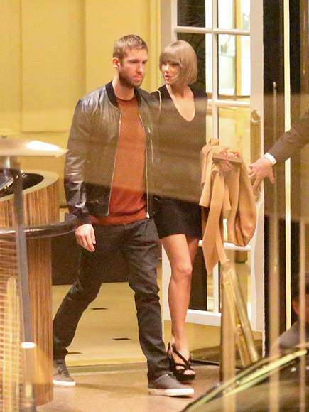 Taylor Swift and Calvin Harris' Date Night in Los Angeles