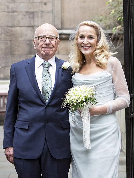 Rupert Murdoch and Jerry Hall Wedding: Photos and Details