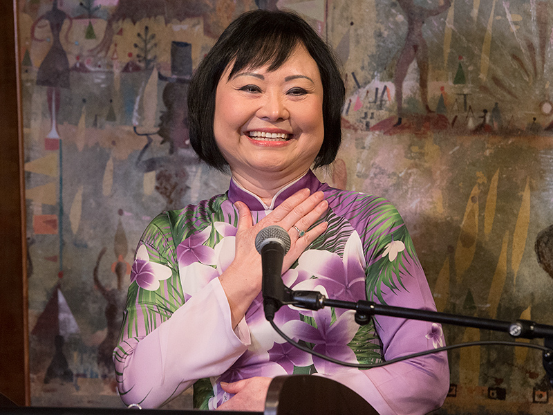 'Napalm Girl' Kim Phuc Helps Launch Foundation to Help Other Burn Survivors