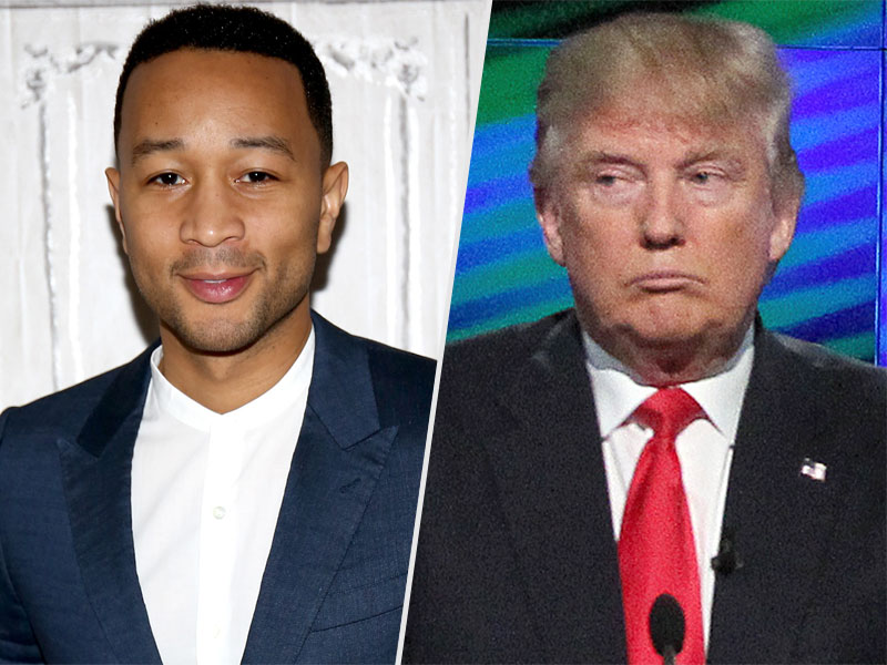 John Legend, Donald Trump Jr. Twitter Feud