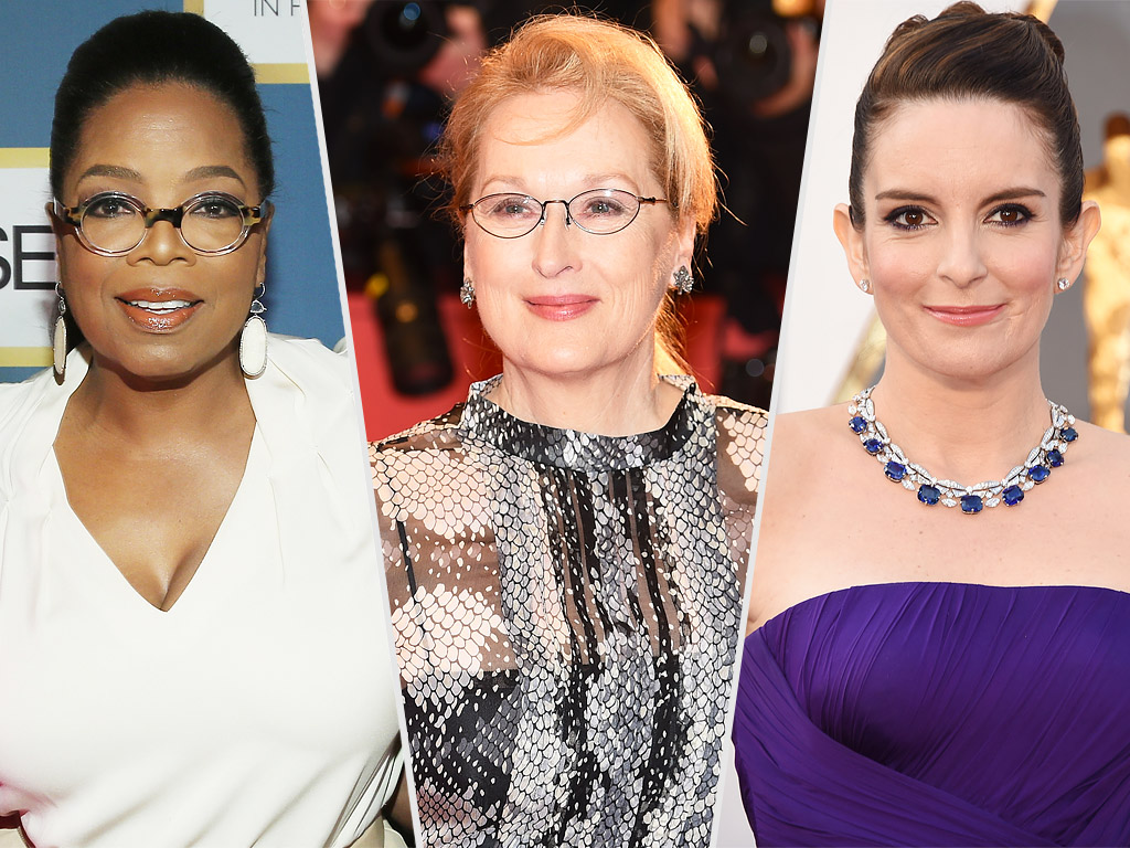 Meryl Streep, Oprah Winfrey, Tina Fey Sign Letter Calling for Gender Equality