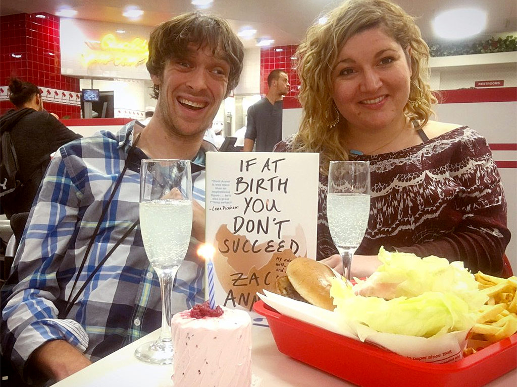 Zach Anner's Memoir If at Birth You Don't Succeed: Book Review