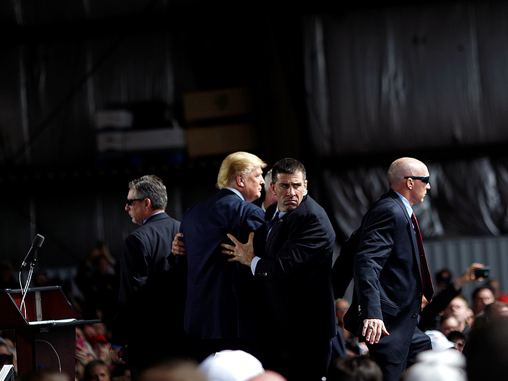 Donald Trump Appears at Dayton, Ohio, Rally After Chicago Cancellation