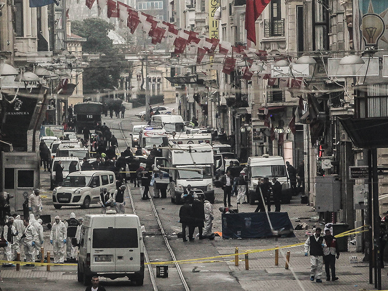 Suicide Bombing in Istanbul, Turkey, Kills 4