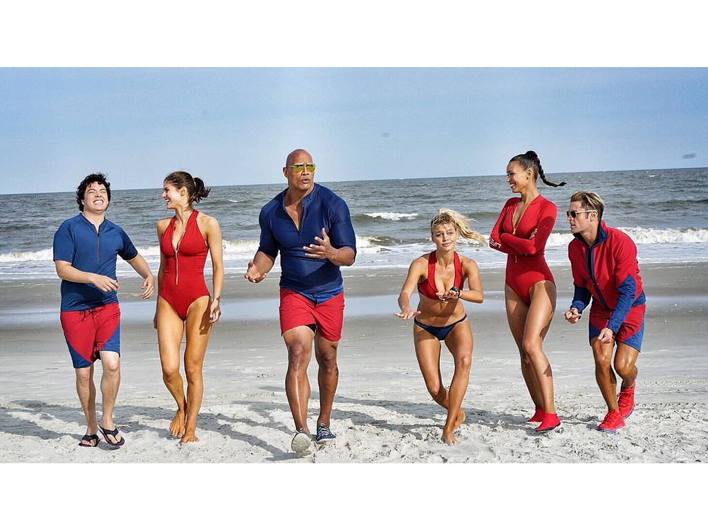 Dwayne 'The Rock' Johnson Shares Epic Photo of Baywatch