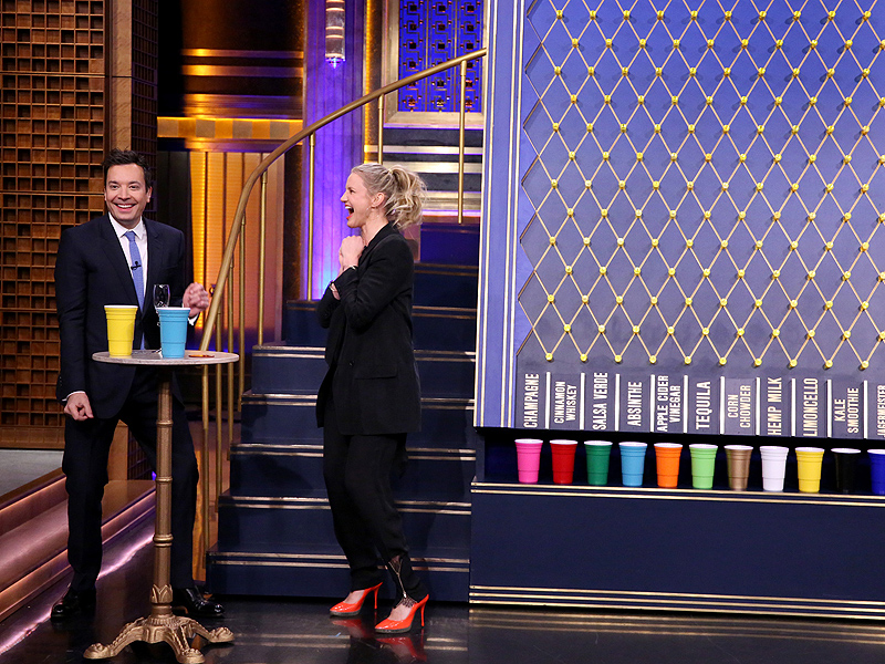 Cameron Diaz and Jimmy Fallon Drink Disgusting Cocktails on Late Night