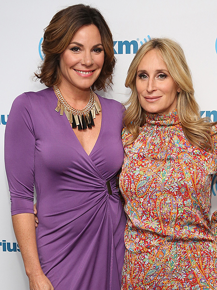 RHONYC: Sonja Morgan and LuAnn de Lesseps Talk Living Together for Season 8