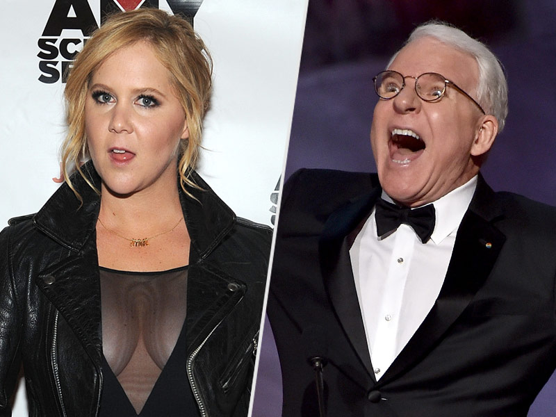 Amy Schumer and Steve Martin Get Into a Playful Twitter Fight