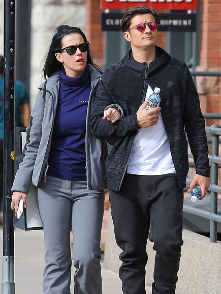 Katy Perry and Orlando Bloom's Romantic Getaway in Aspen