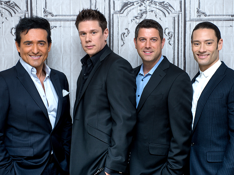 Il divo amor pasion tour behind the scenes video - Il divo cast ...