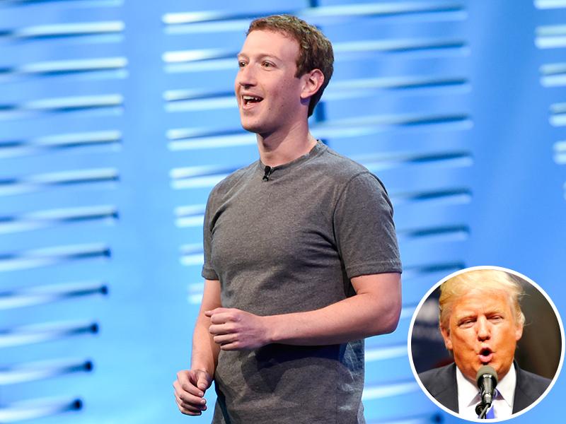 Mark Zuckerberg Takes a Dig at Donald Trump During F8 Keynote