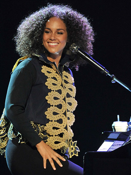 Alicia Keys Performs New Song, Announces BET Awards Performance