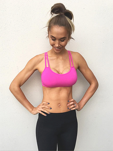 Chontel Duncan's Abs Are Back Just Two and a Half Weeks After Giving Birth