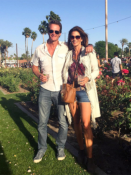 Cindy Crawford and Family at Coachella 2016: Photos