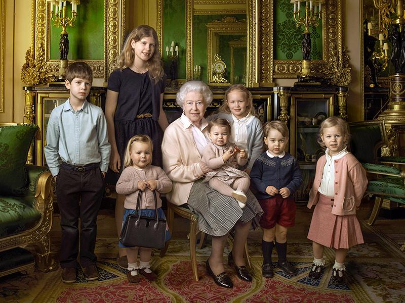 Princess Charlotte, Prince George Fashion in New Royal Portrait