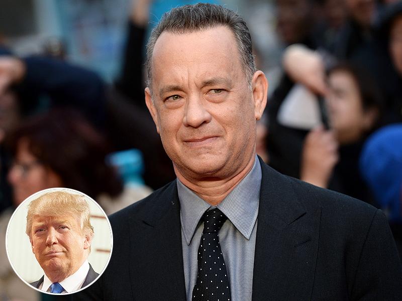 Tom Hanks Says Donald Trump Presidency Will Happen After Dinosaur Spaceships