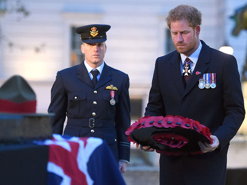 Prince Harry Lays Honors of Australian, New Zealand Veterans on Anzac Day