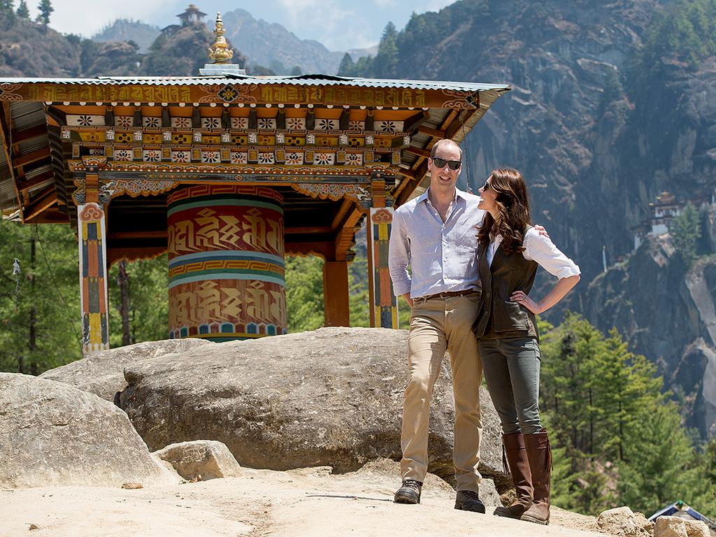 Prince William and Princess Kate Bhutan Visit Photo