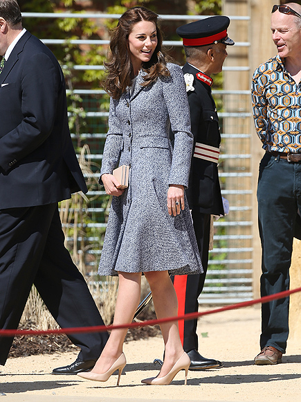 Kate Middleton Helps Open a Medieval-Themed Playground