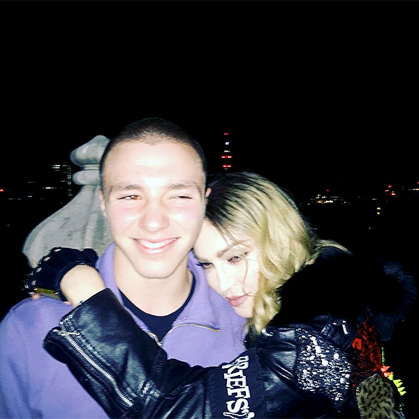 Madonna Custody Battle: Madonna Reunites With Son Rocco: Photoc!