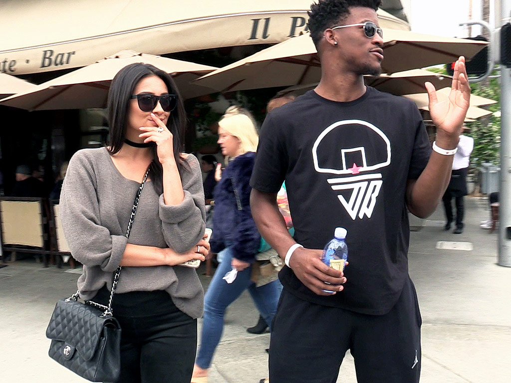 Shay Mitchell Goes On Date With Nba Star Jimmy Butler