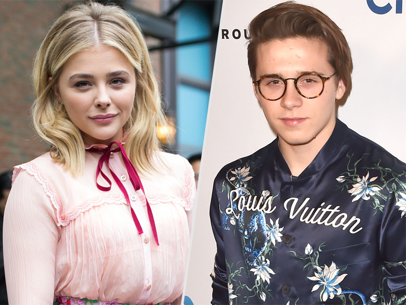 Brooklyn Beckham and Chloe Grace Moretz Post Cute Instagram Photo